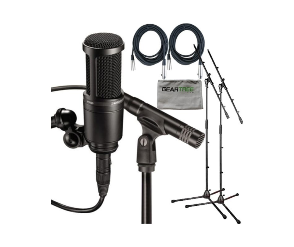 Audio-Technica AT2041SP Studio Pack (AT2020, AT202