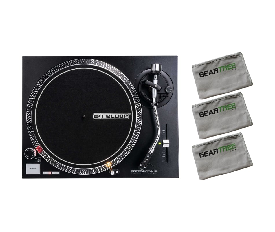 Reloop RP-2000-USB-MK2 Direct Drive Turntable w/ P