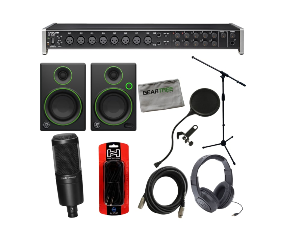US-16x08 USB/MIDI Recording Interface Bundle