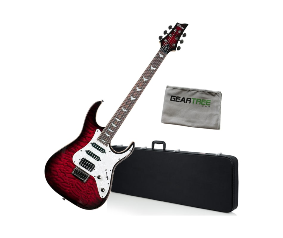 Banshee-6 Extreme Black Cherry Electric Bundle