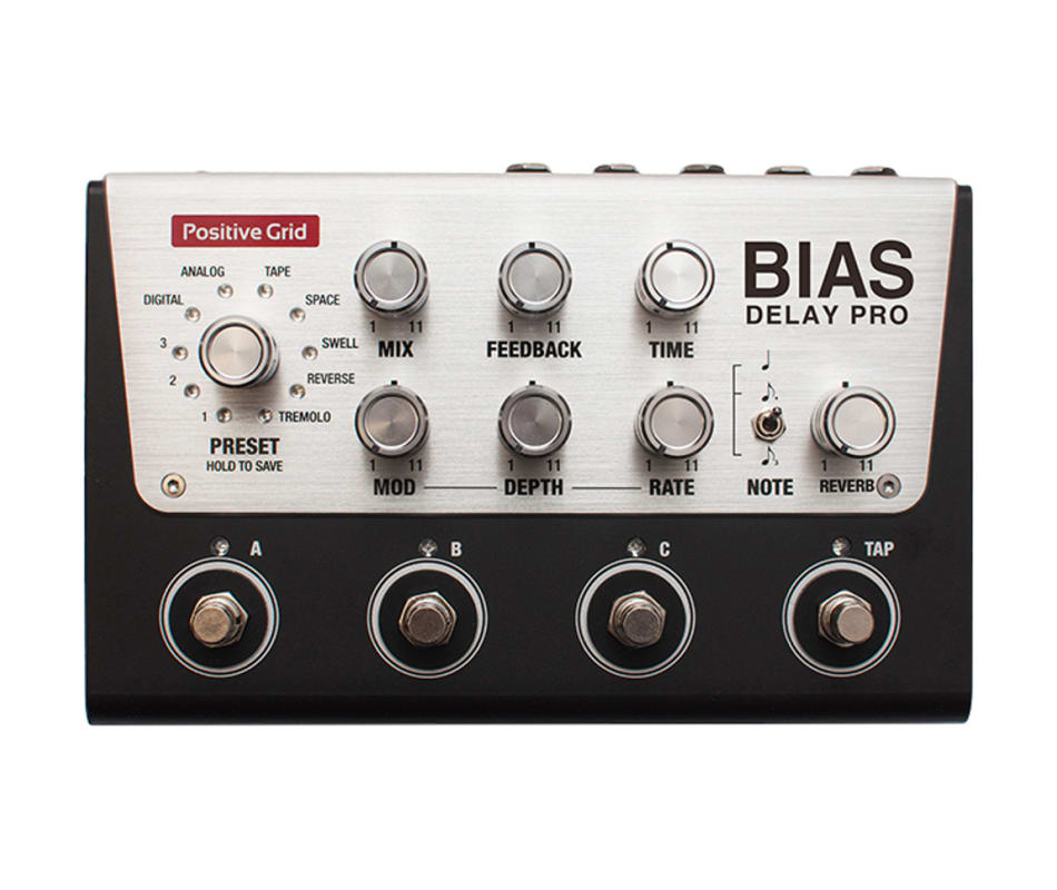 BIAS Delay Pro 4 Customizable Effect Pedal