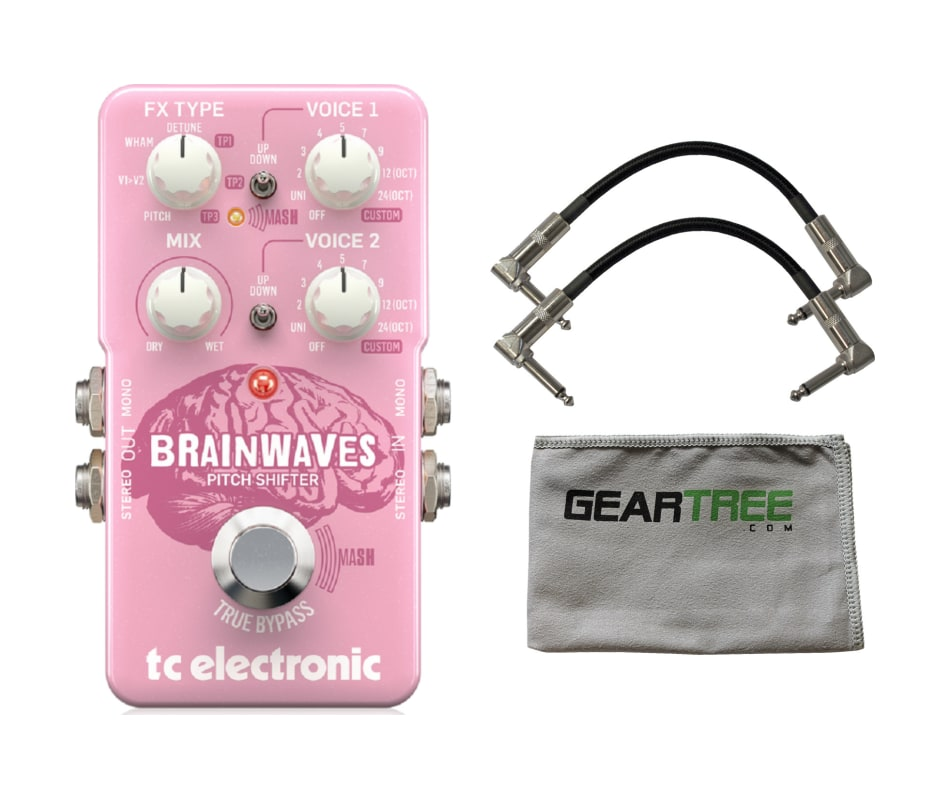 TC Electronic Brainwaves Pitch Shifter Effects Ped