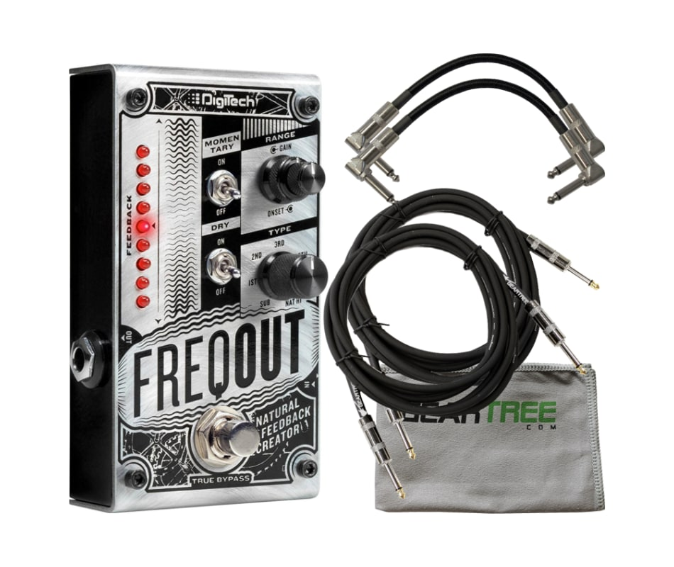 FreqOut Natural Feedback Creator Pedal Bundle