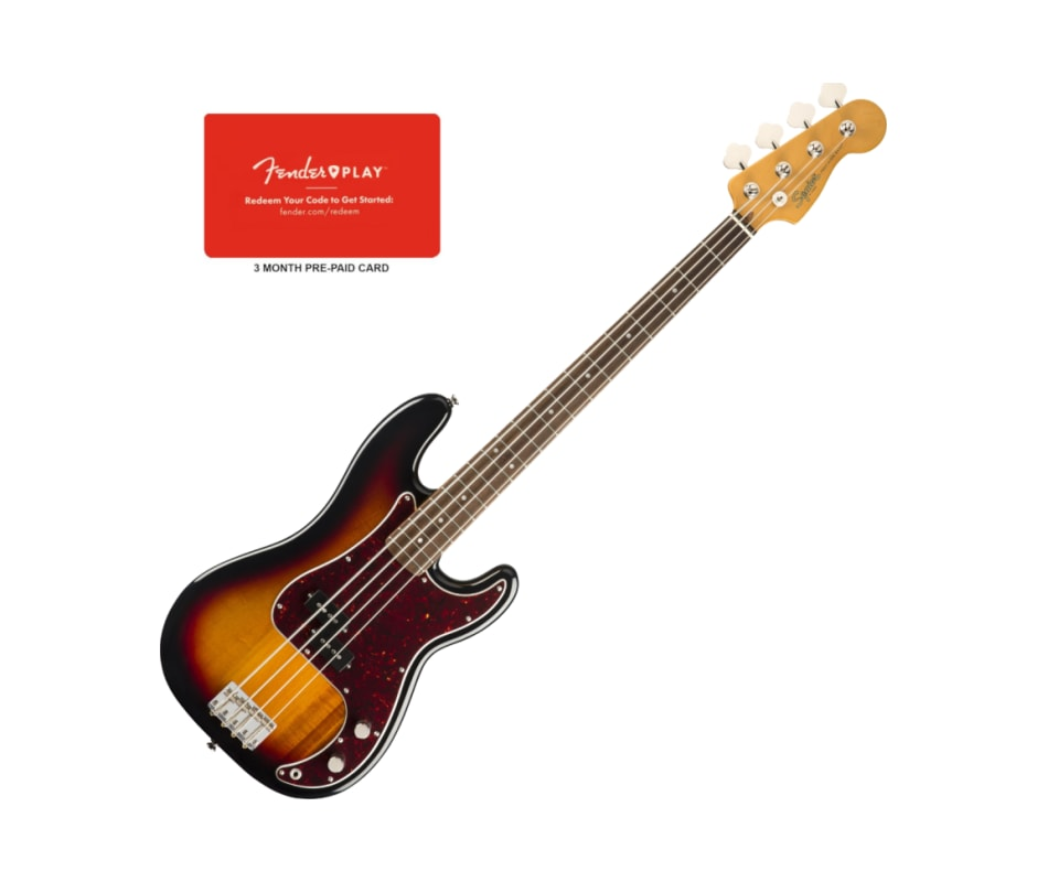 Squier 0374510500 Classic Vibe 60s Precision Bass,