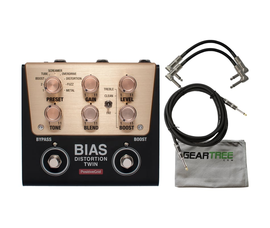 BIAS Distortion Twin 2-Button Distortion Bundle