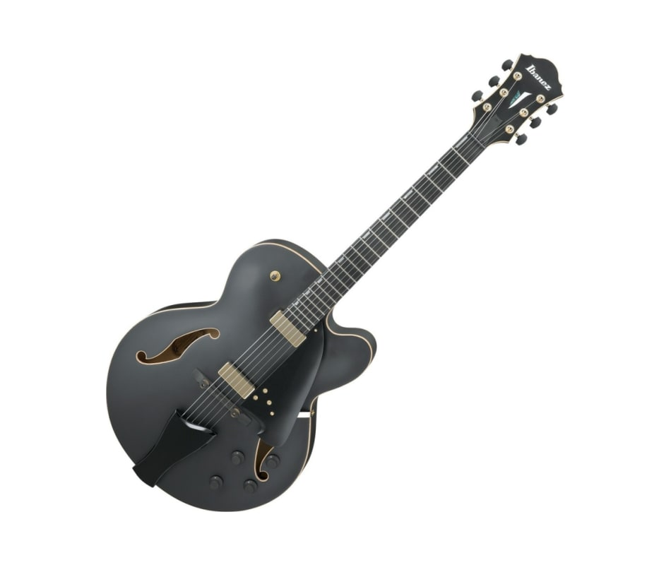 AFC125 Contemporary Archtop Guitar w/case Flat Blk