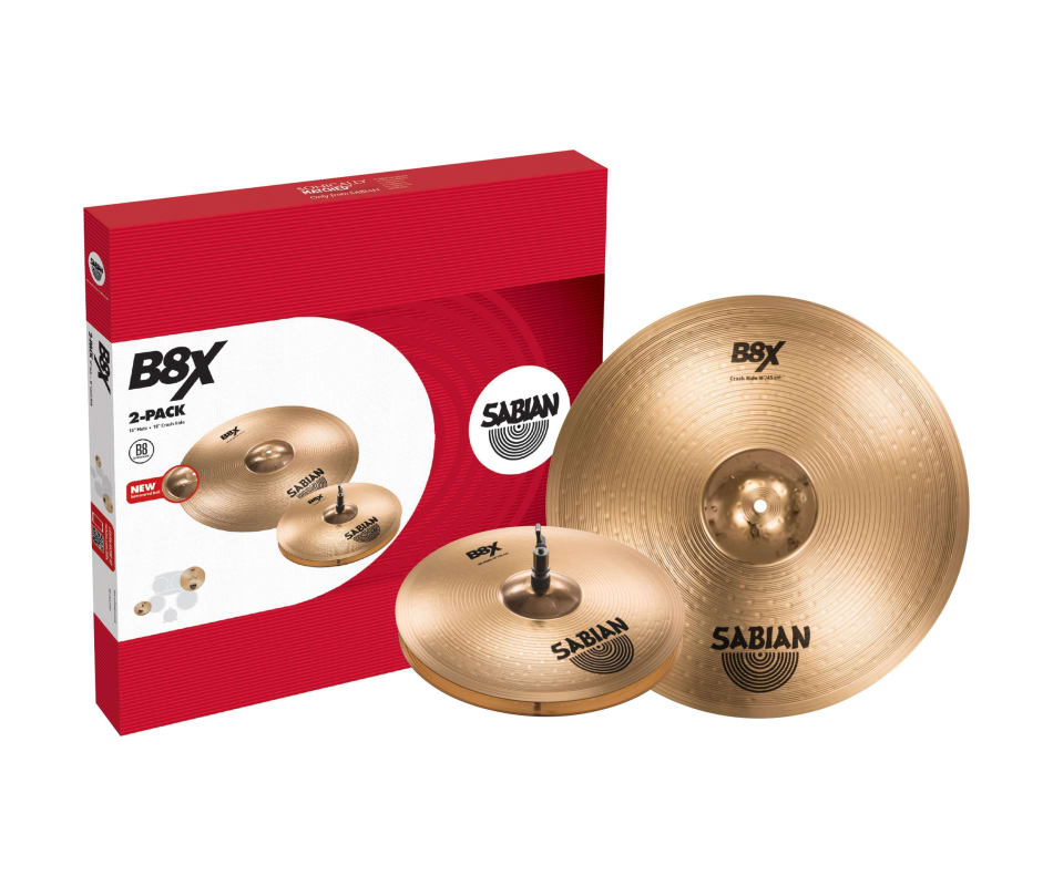 45002X B8X 2-PACK Cymbal Box Set
