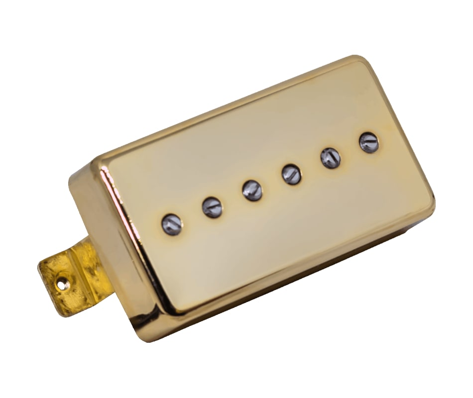 Supro SA12B Super Alnico Brushed Gold BRIDGE Picku