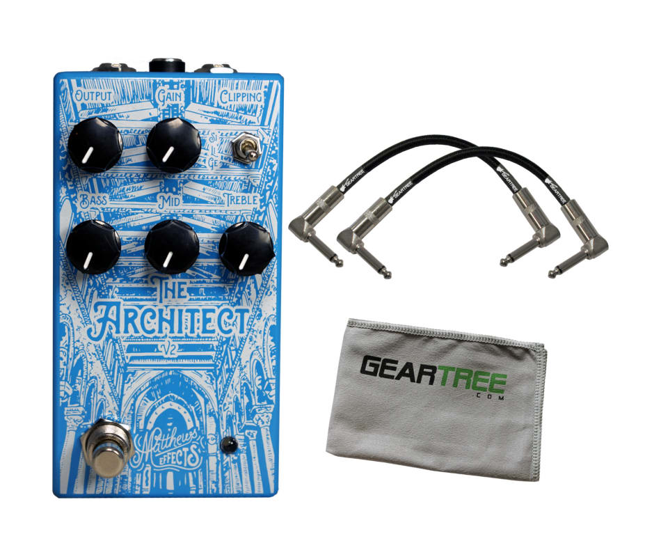The Architect V2 Overdrive Pedal Bundle