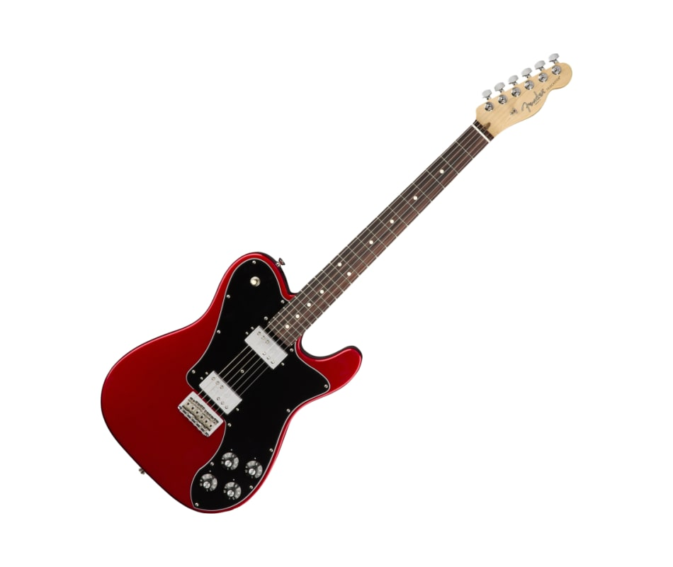 Am Pro Telecaster Deluxe Shaw Candy Apple Red RW
