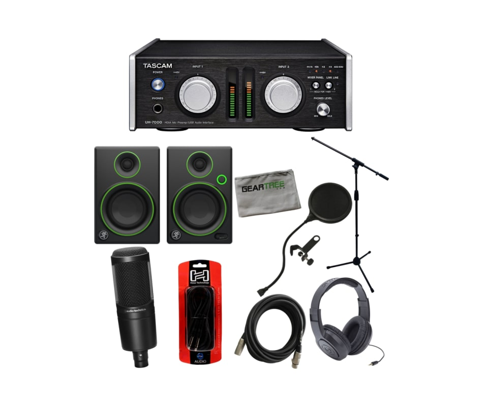 UH-7000 HDIA Mic Preamp/USB Interface Bundle