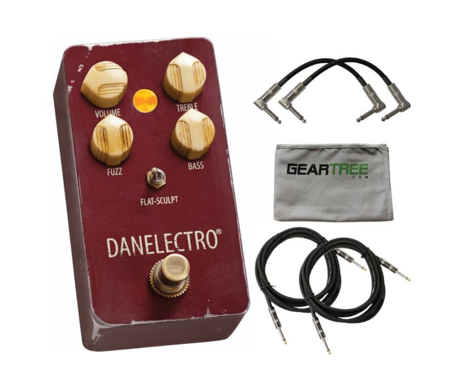 Danelectro The Eisenhower Fuzz Pedal w/ Geartree C