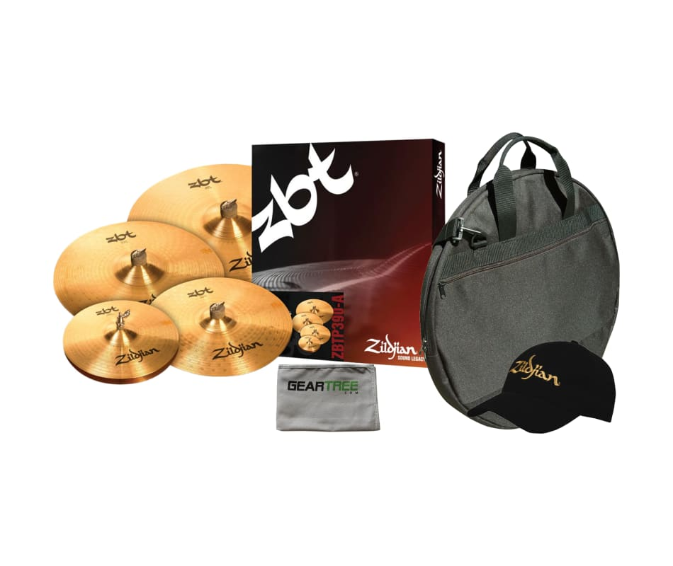 ZBTP390-A ZBT Cymbal Box Set Bundle