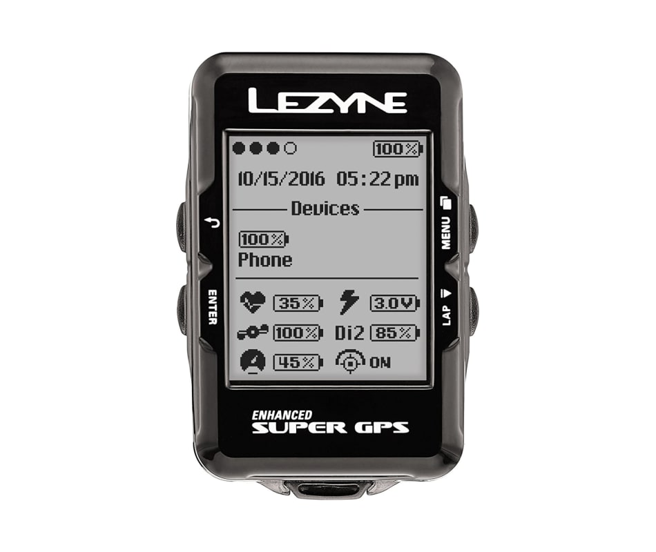 Super GPS HR Heart Rate Loaded Cycling Computer