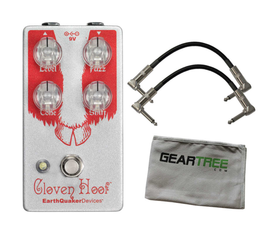 Cloven Hoof V2 Silicon Fuzz Pedal Bundle