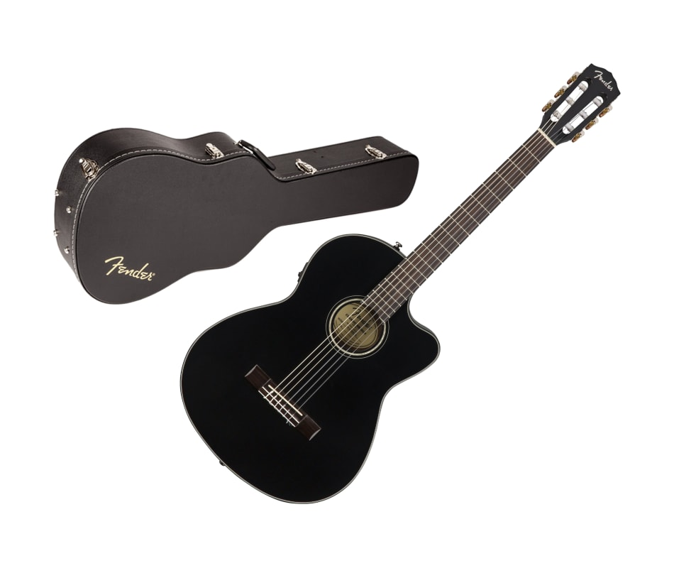 CN-140SCE Acoustic/Electric Guitar with Case