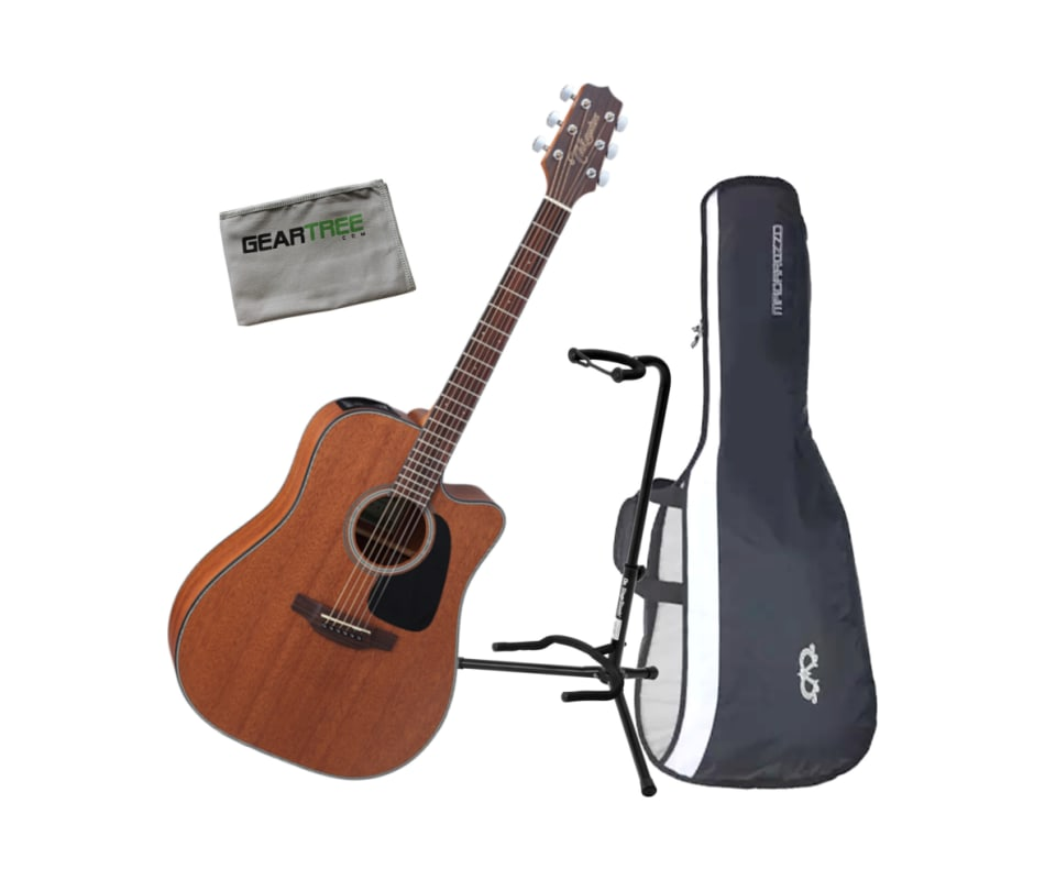 GD11MCE Dreadnought CW Acoustic-Electric Bundle