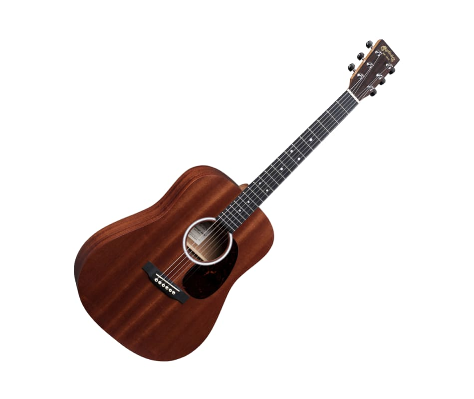 Martin D Jr-10-01 Satin Sapele Top Acoustic Guitar
