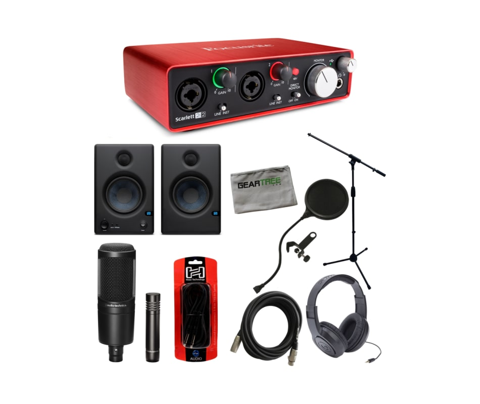 Scarlett 2i2 USB 2nd GEN Audio Interface Bundle