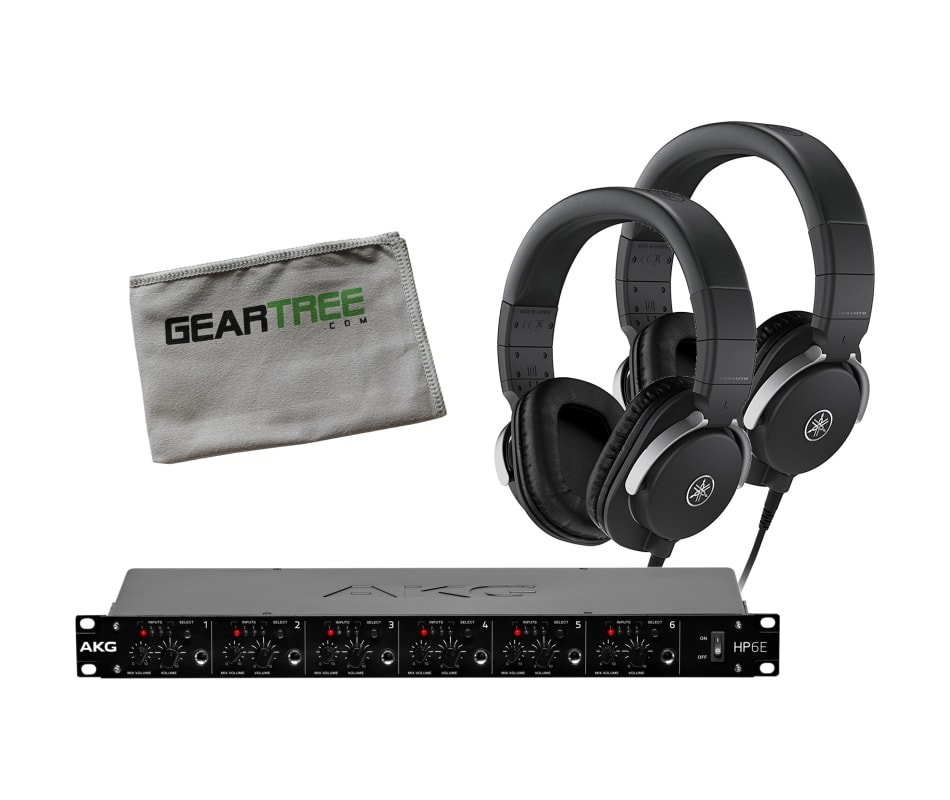 HPH-MT8 Closed-Back Studio Headphone Bundle