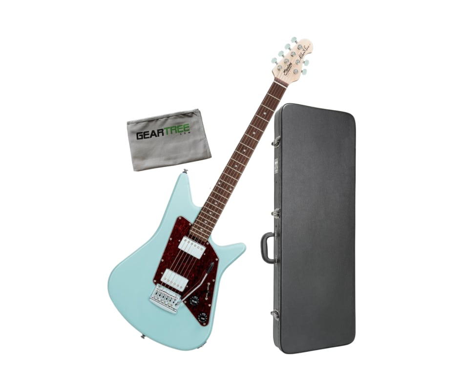 Sterling AL40-DBL-R1 Albert Lee Daphne Blue Electr
