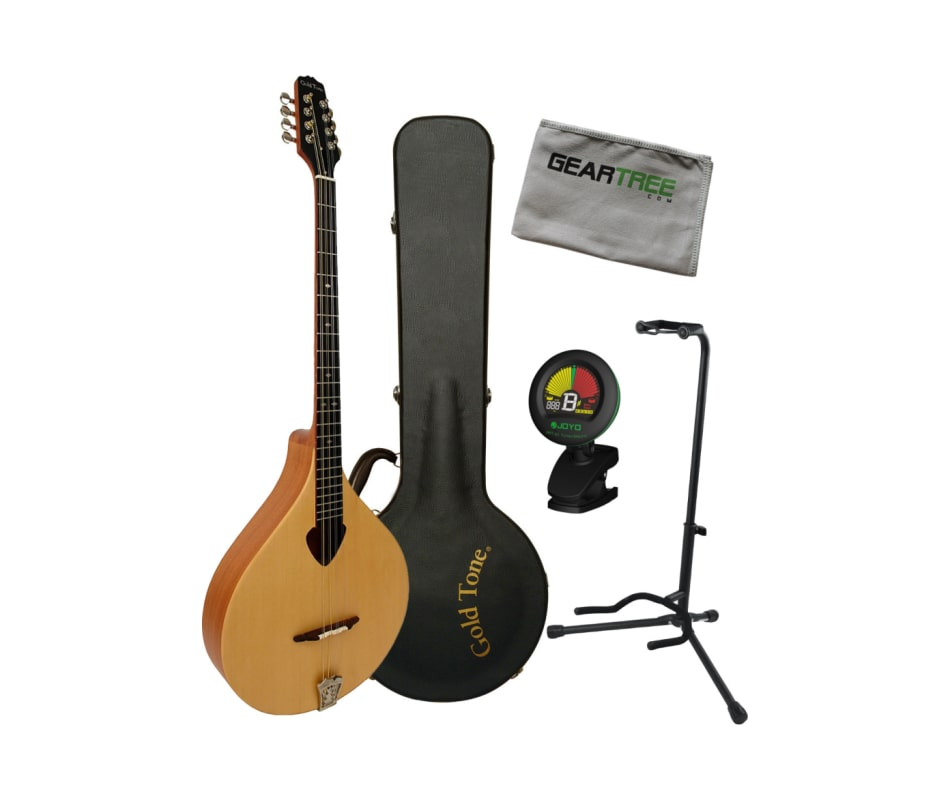 BZ-500 Irish Bouzouki Mandolin Bundle