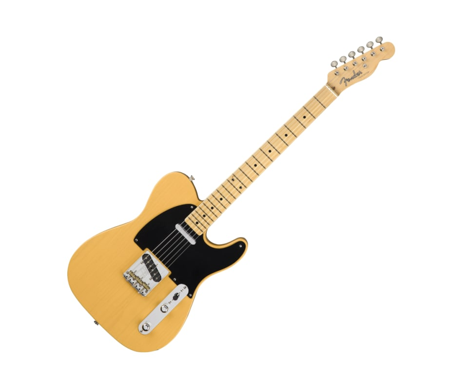 American Original 50s Tele Butterscotch with case