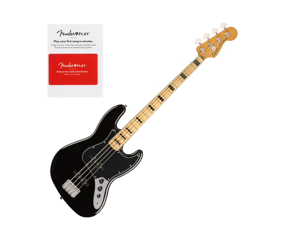 Squier 0374540506 Classic Vibe 70s Jazz Bass, Mapl