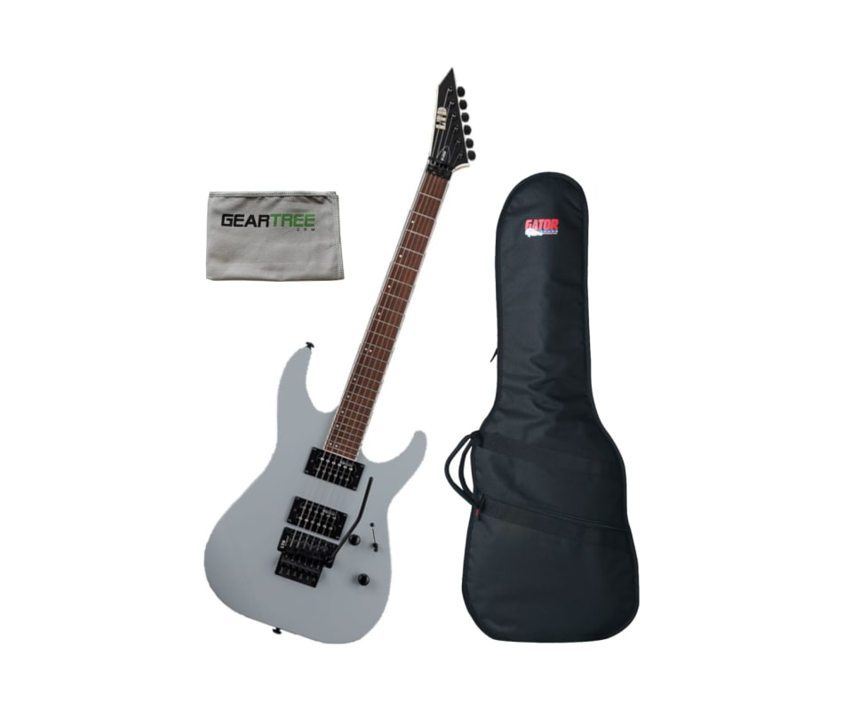 ESP LTD LM200AGRY LTD M-200 Alien Gray Electric Gu