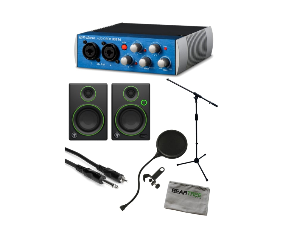 AudioBox USB 96 2x2 Audio Interface Bundle
