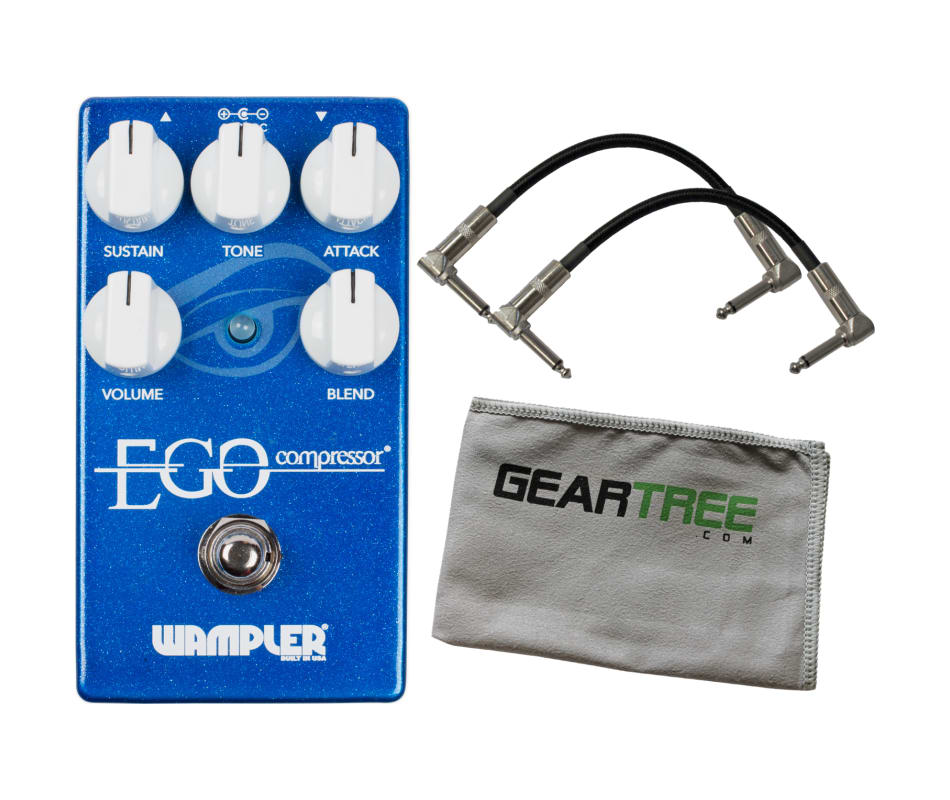 Wampler Ego Compressor Pedal UPDATED w/ 2 Patch Ca