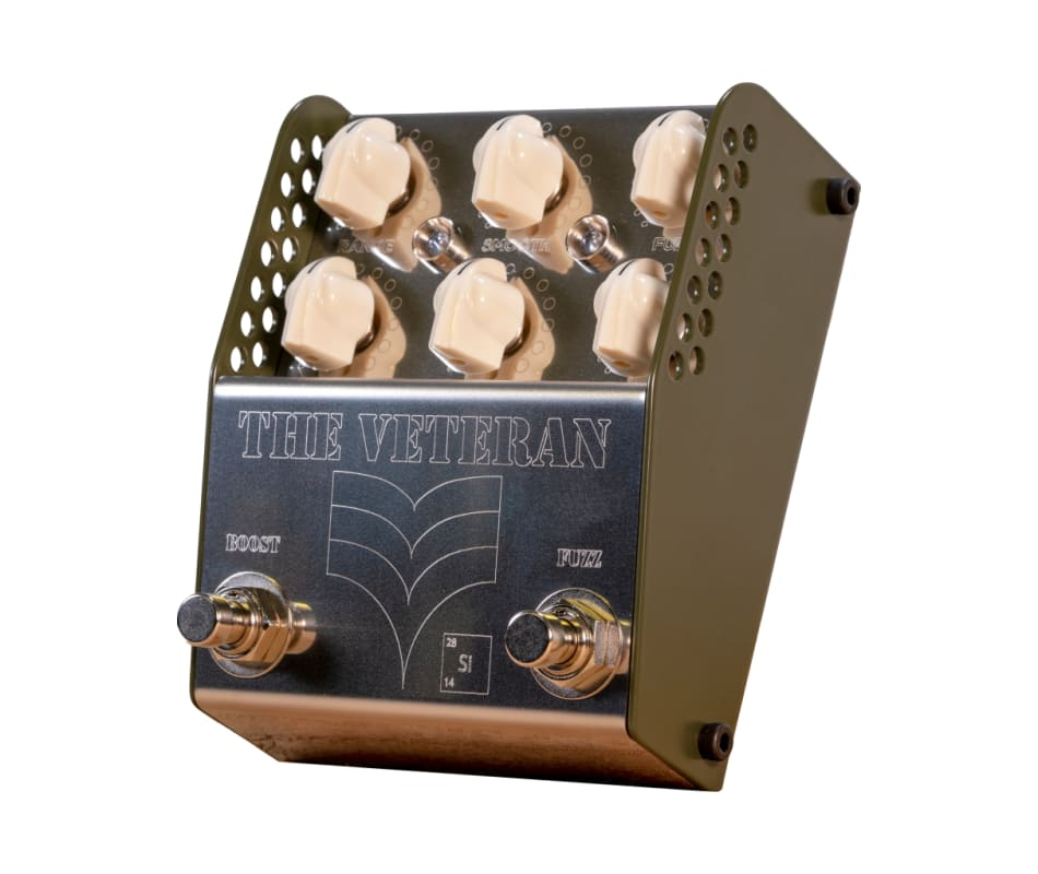 Thorpy FX The Veteran Si V2 Boost/Fuzz Dual Effect