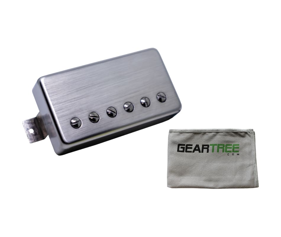 Supro TK11N Supro PAF Brushed Nickel NECK Pickup w