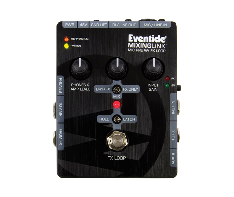 Eventide Mixing Link Mic Preamp w/FX Loop Effect P