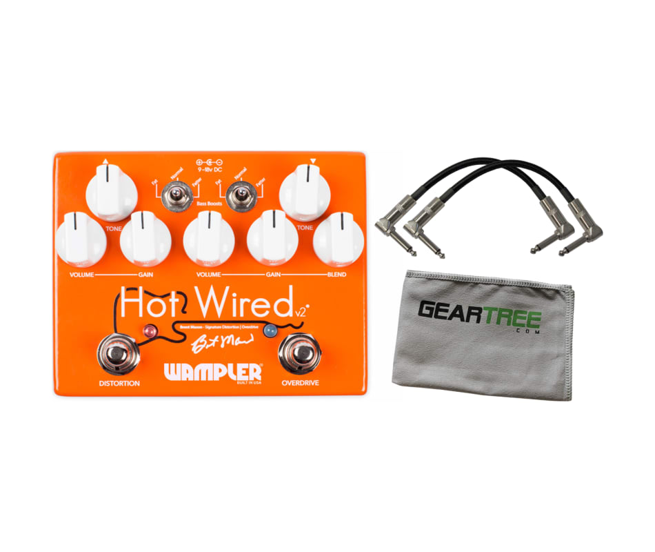 Wampler Hot Wired V2 Brent Mason Signature Overdri