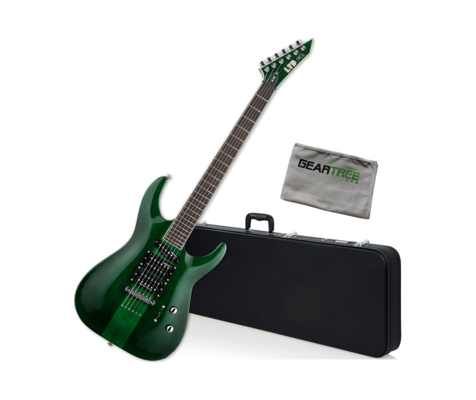 ESP LTD SC-20TH Anniversary See Thru Green Stephen