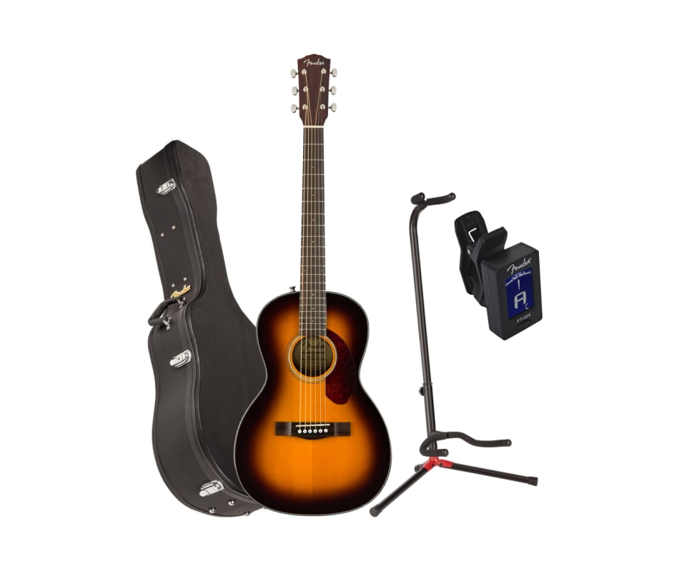 CP-140SE Sunburst Parlor Acoustic-Electric Bundle