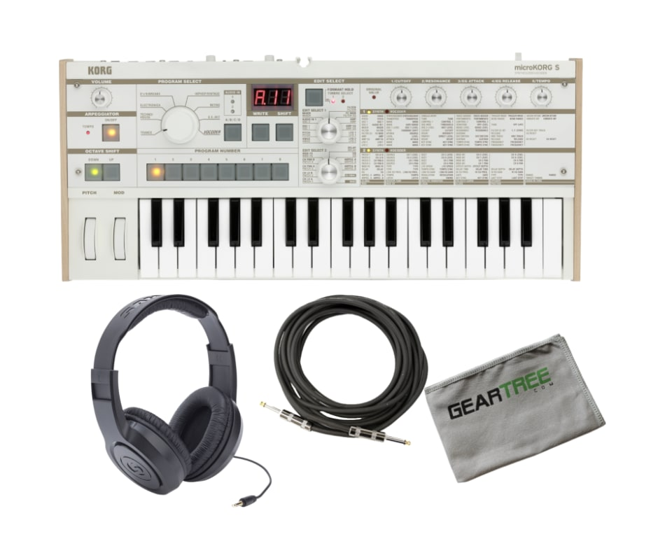 Korg MICROKORGS MicroKORG Synthesizer w/ Headphone