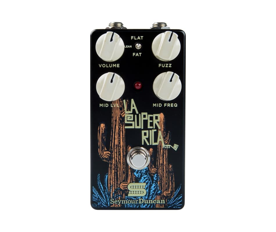 La Super Rica Fuzz Guitar Effect Pedal