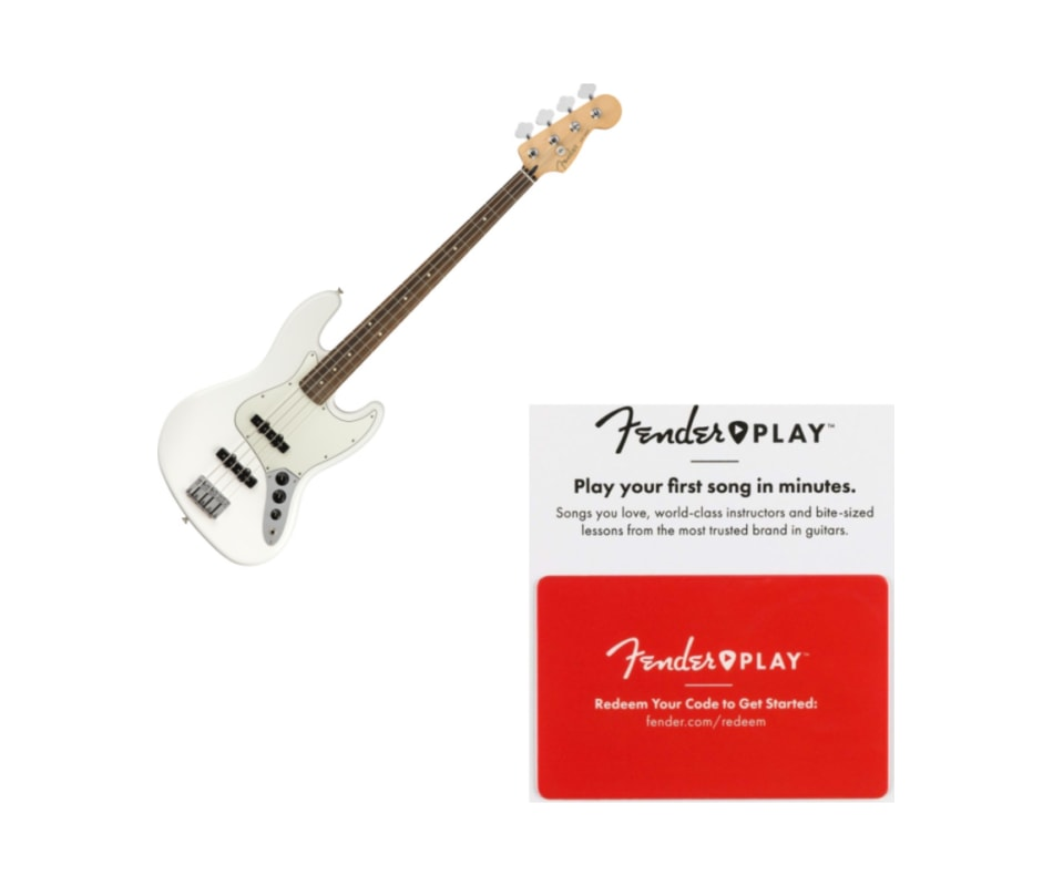 Fender Player Jazz Bass Pau Ferro Fingerboard Pola