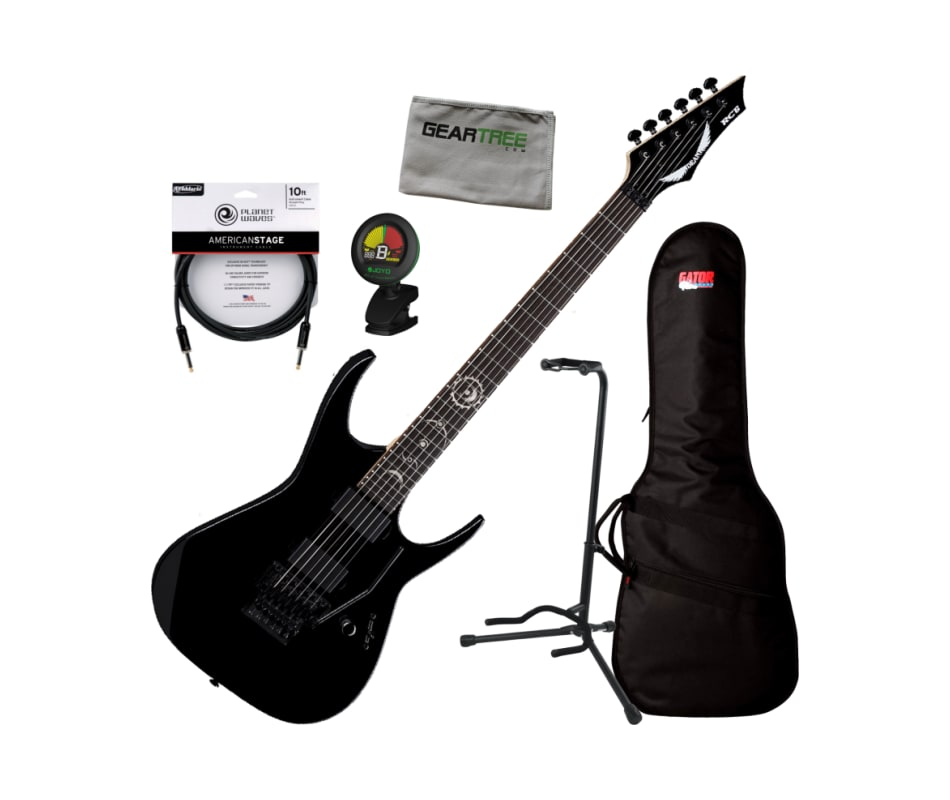 Dean RC6 CBK Rusty Cooley Classic Black Electric G