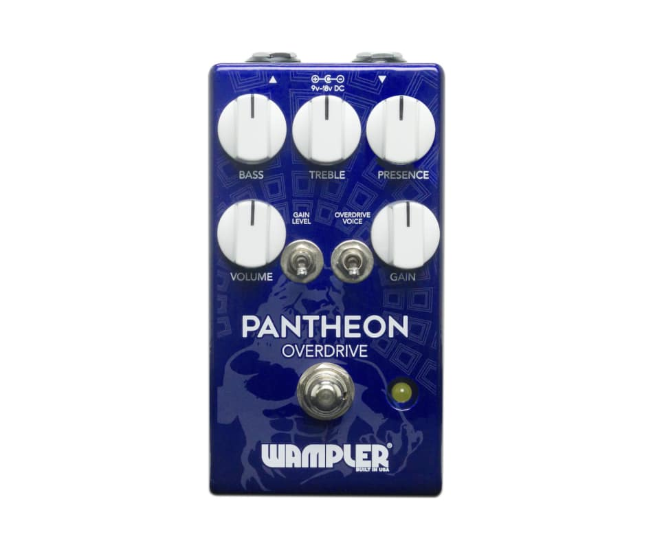 Wampler Pantheon Overdrive Effects Pedal