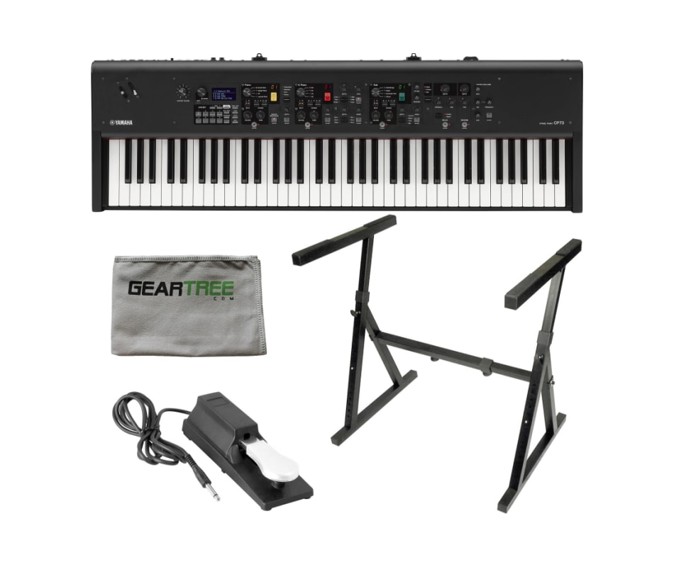 Yamaha CP73 73 Key Stage Piano w/ Stand, Sustain P