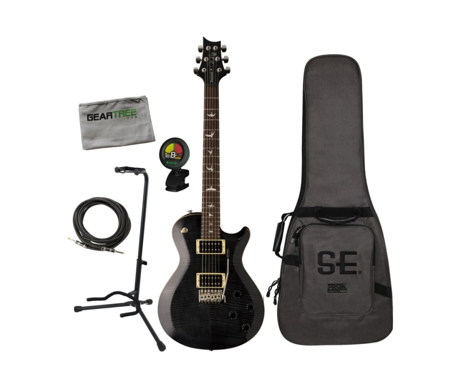 PRS SE Mark Tremonti Custom Grey Black Electric Gu