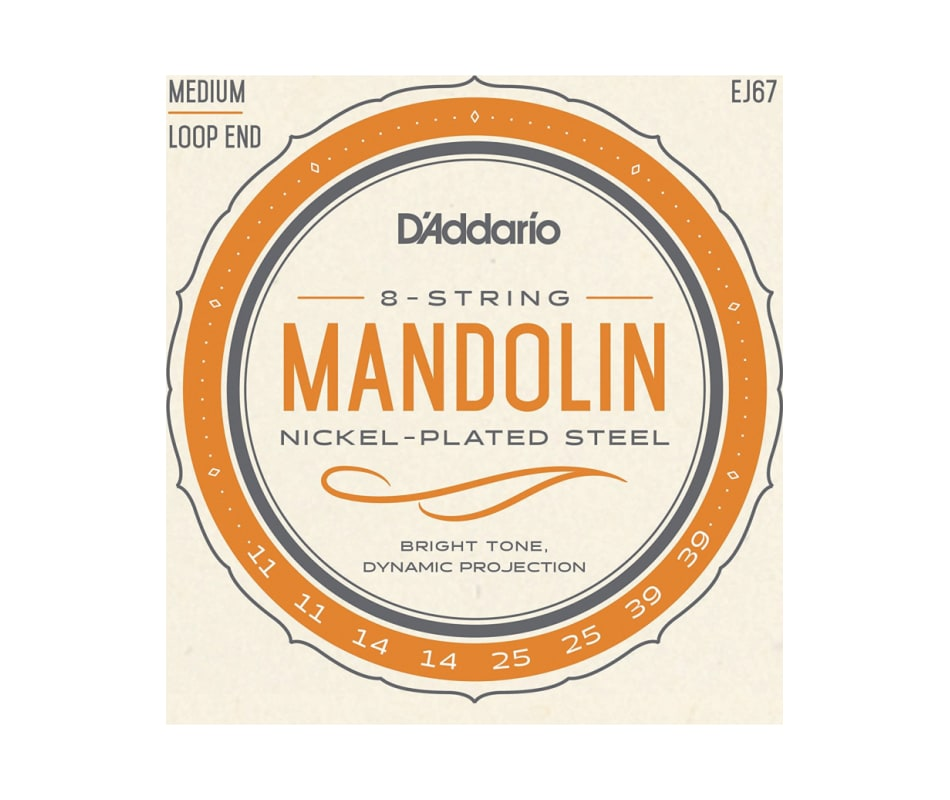 EJ67 Nickel Mandolin Strings