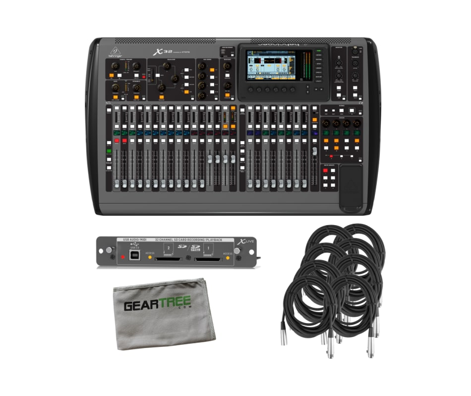 Behringer X32 32-Channel 16-Bus Digital Mixing Con