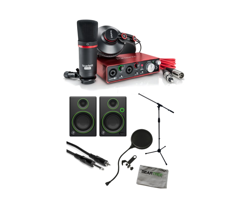 Scarlett 2nd GEN 2i2 Studio USB Interface Bundle