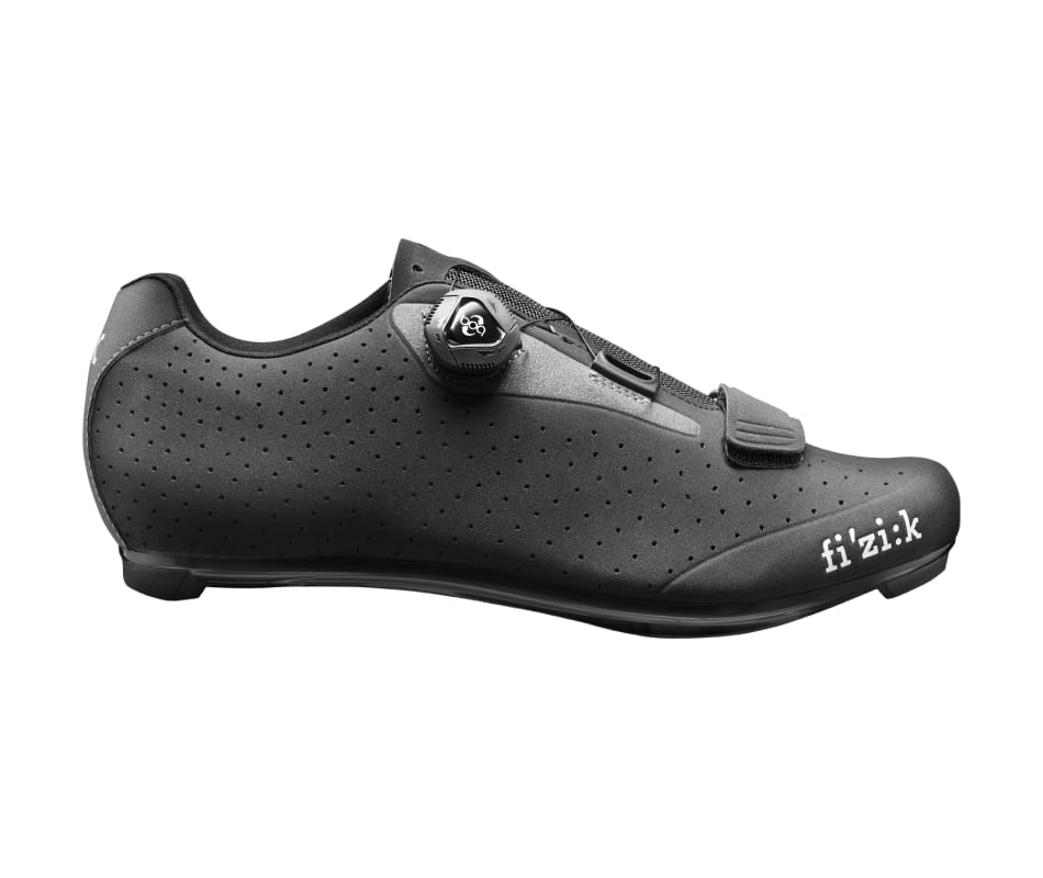 R5 UOMO Black/Dark Gray Men's Cycling Shoes