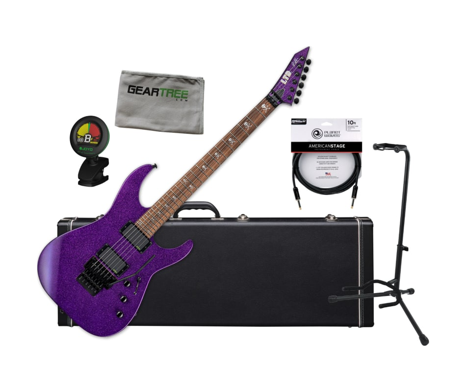 ESP LTD KH-602 Kirk Hammett Signature Purple Spark