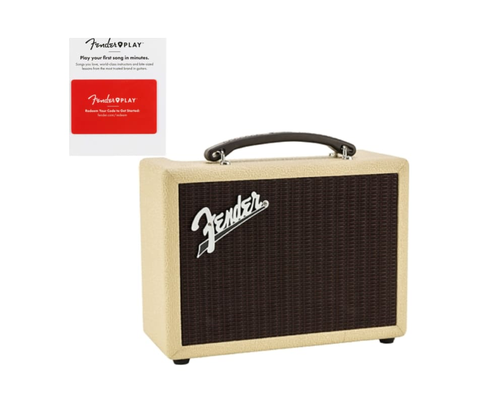 Fender INDIO BLUETOOTH SPEAKER BLONDE w/ Fender Pl